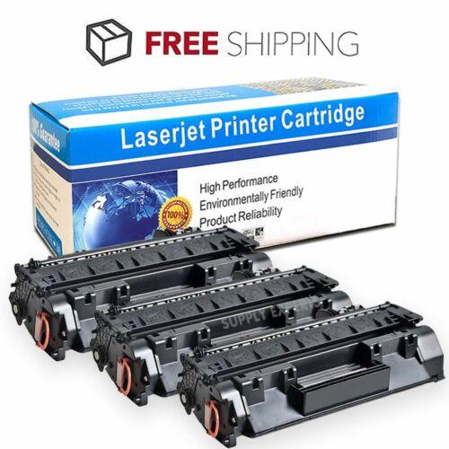 3pk ce505a 05a black toner cartridges