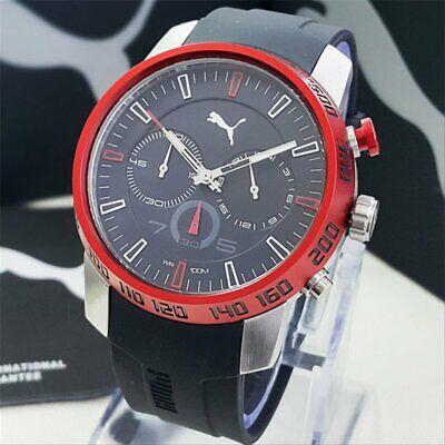 Puma Motorsport Unisex Red and Black watch PU103051003 New Boxed Original