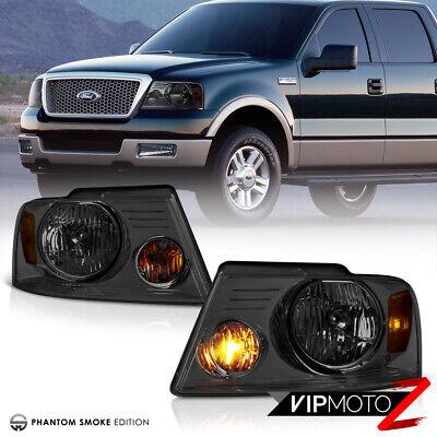 2004 2005 2006 2007 2008 Ford F150 Lobo Pick Up Truck Smoke Headlights Headlamps