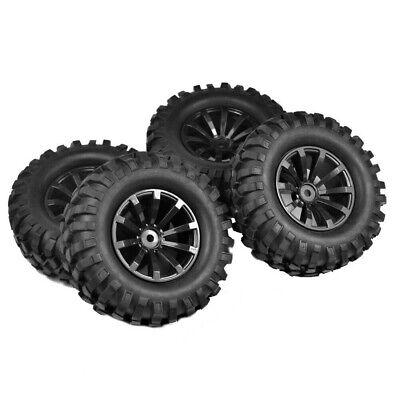 For Off Road Car HSP HPI 1/10 RC Beach Rock Crawler 108mm 1.9'' Tires Wheels Hex