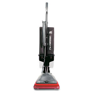 Electrolux Commercial Lightweight Bagless Upright Vacuum,14lb,Gray/red SC689 NEW