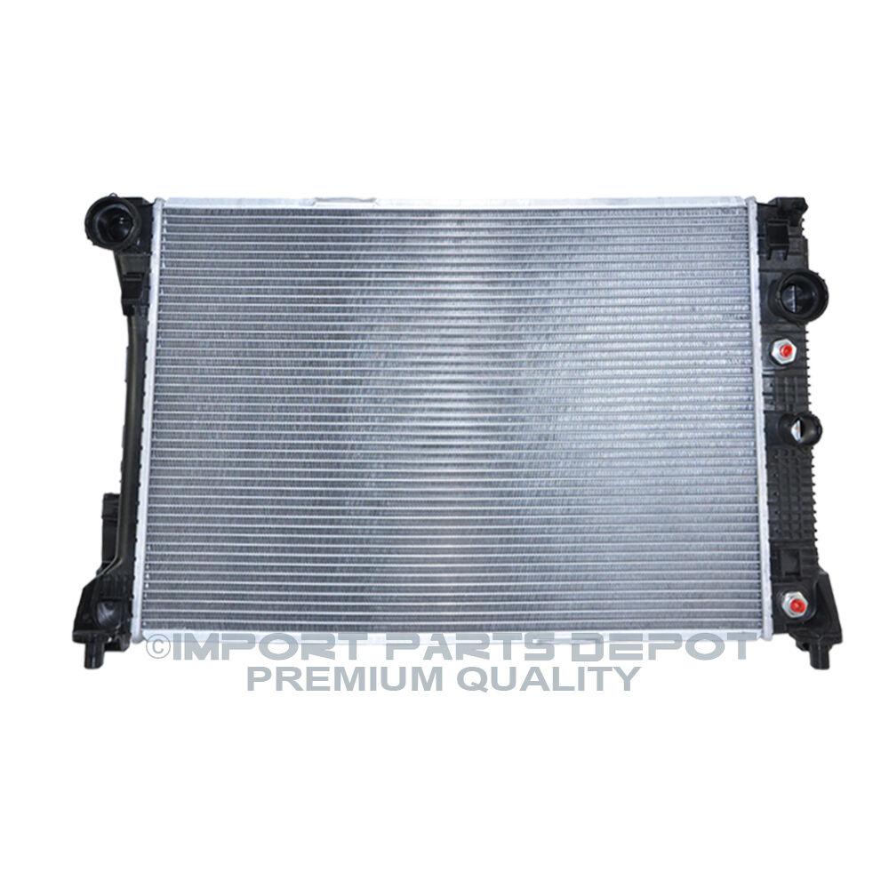 Mercedes benz radiator base w o pzev premium quality for Mercedes benz radiator
