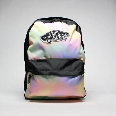 VANS Realm Backpack AURA Wash/black Rucksack  NEW WITH TAGS!!