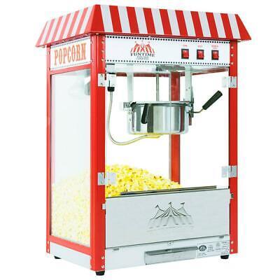Funtime Popcorn Popper Machine Maker 8 Oz Pop Corn Commercial Carnival Bar Style
