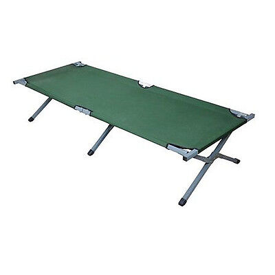 Portable Folding Cot Camping Military Hiking Medical Guest Bed Sleeping Green