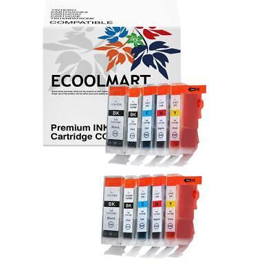 10 pack BCI6 ink Cartridge fits Canon i860 PIXMA iP4000 i560 Printer BEST