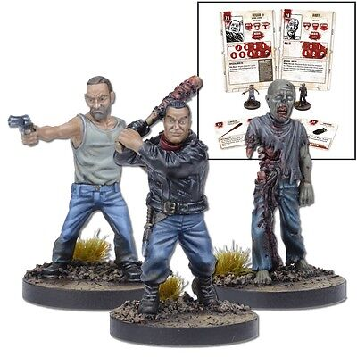 THE WALKING DEAD - ALL OUT WAR - NEGAN BOOSTER - MANTIC GAMES for sale  Shipping to South Africa