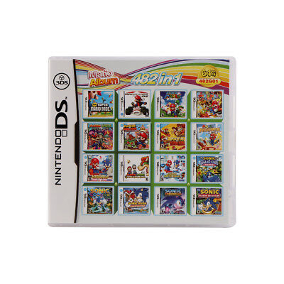 482 In1 Nintendo Video Game Card Cartridge Console Cardor NDSI NDSL NDS 2DS 3DS