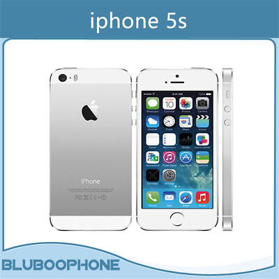 Original Apple iPhone 5S 16GB 8MP Factory Unlocked Smartphone -Silver