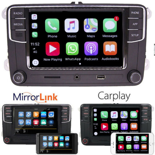 "6.5"" Autoradio RCD330 CarPlay RVC USB SD Bluetooth für VWGOLF 5 6 EOS T5"