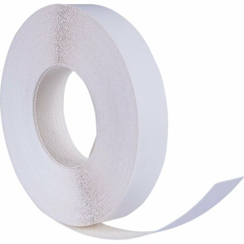 "White Melamine Edgebanding Edge Tape Pre-Coated Pre-Glued Iron-on 7/8"" x 50"