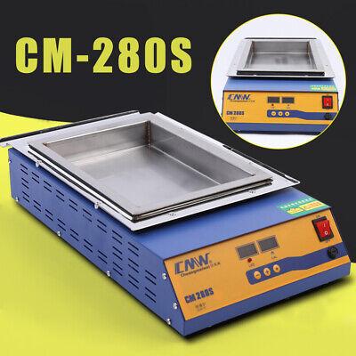 Lead-free Titanium Alloy Digital Solder Pot Soldering Desoldering Bath 2kw 110v