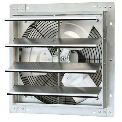 1280 Cfm Power 16 In. Variable Speed Shutter Exhaust Fan Iliving Wall Mounted