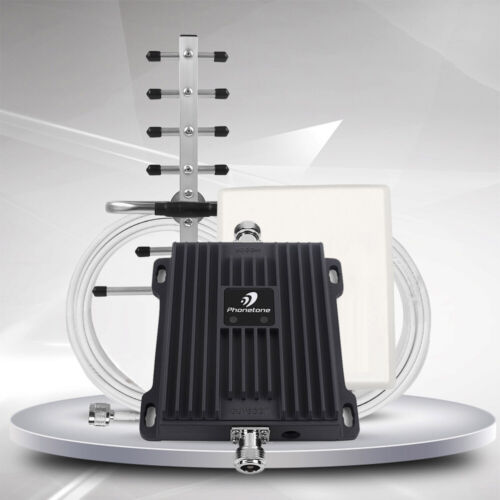 Home Cell Phone Signal Booster 850/1900MHz 2G 3G 4G for Enha