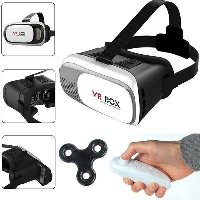Virtual Reality 3D Brille VR Box mit Bluetooth Gamepad Samsung Sony Huawei HTC