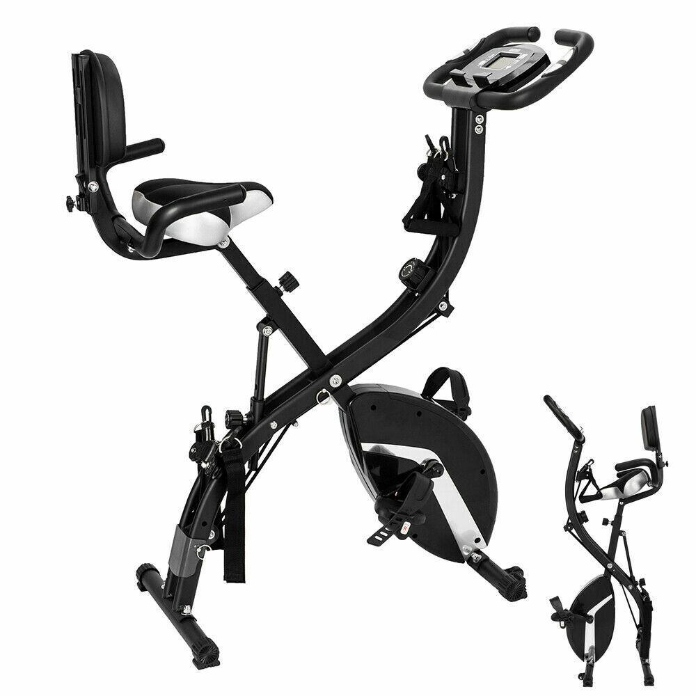 recumbent upright indoor cycling foldable folding exercise