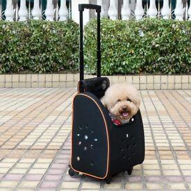 Petsfit Small Dog/ Puppy Pram-stroller. Travel Bed