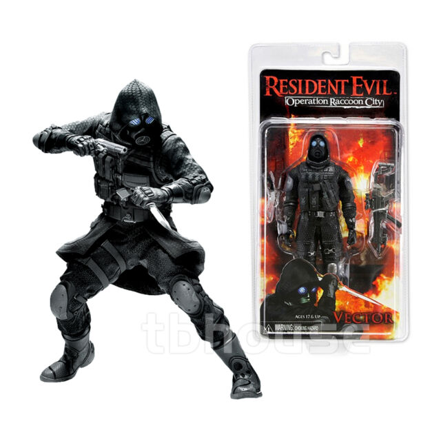 Resident Evil 6 Biohazard Toys : Neca resident evil operation raccoon city vector action
