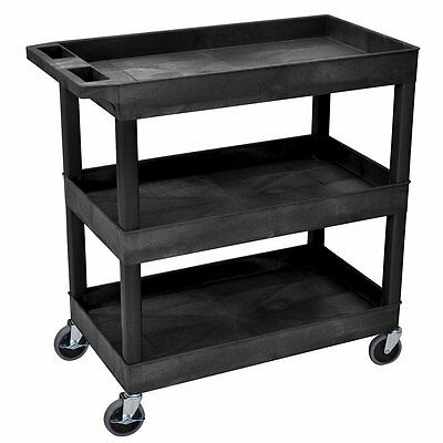 Utility Carts On Wheels Mechanics Tools Storage Wagon Serving Kitchen Garage