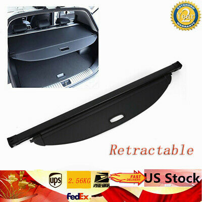 Trunk Shade Rear Cargo Cover Shield for 2016-2018 Hyundai Santa Fe Sport (2016 Hyundai Santa Fe Sport Cargo Cover)