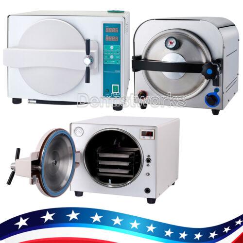 14L/ 18L Dental Clinic Autoclave Steam Sterilizer Medical Sterilization