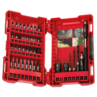 Milwaukee 40 Piece Shockwave Drill Driver Set Impact Duty Bits 4932430908