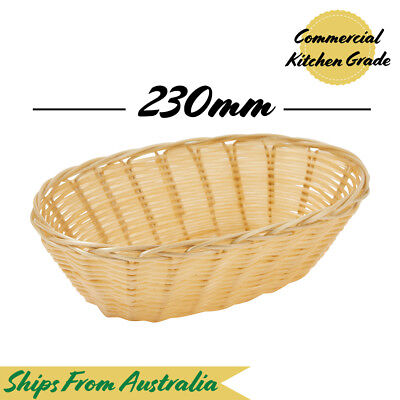 (Carton Of 12) x Round Rattan Bread Proofing Basket | Plastic Stackable NEW
