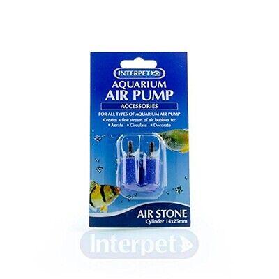 2 Pack Aquarium Air Pump - (2 Pack) Interpet Airstones For Aquarium Air Pump