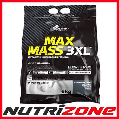 OLIMP MAX MASS 3XL Protein Ultra Strong Hardgainer Carbs Creatine Taurine BCAA ()