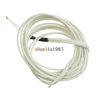 Reprap Ntc 3950 Thermistor 100k 1 Meter Wire For 3d Printer Bed Hot End