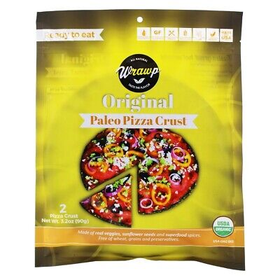 Wrawp - Paleo Pizza Crust Original - 2 Sheet(s)