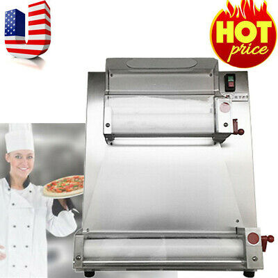 New Automatic Electric Pizza Dough Rollersheeter Pizza Making Machine 370w