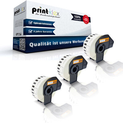 3x Label Etiketten Rollen für Brother P-Touch-QL-1050-N DK22 - Office Line Serie online kaufen