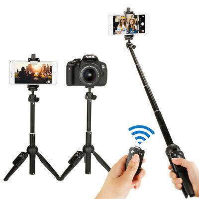 3 in 1 Yunteng Selfie Stick Tripod Extendable For Mobile Phone Taking Pictures