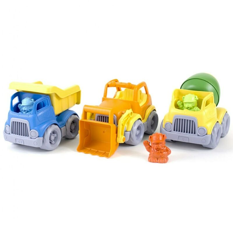 Green Toys Construction Trucks Set  - Set of 3