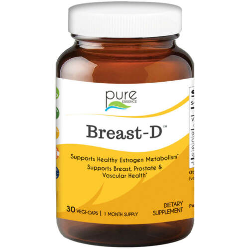 Pure Essence Labs Breast D for Women - Vitamin D3 With DIM -