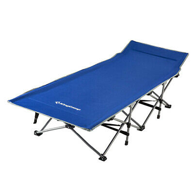 KingCamp Folding Deluxe Lightweight Portable Camping Bed Cot
