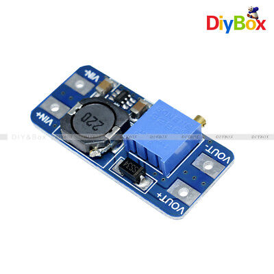 5pcs Mt3608 2a Dc-dc Step Up Power Supply Booster Power Module 2-24v For Arduino