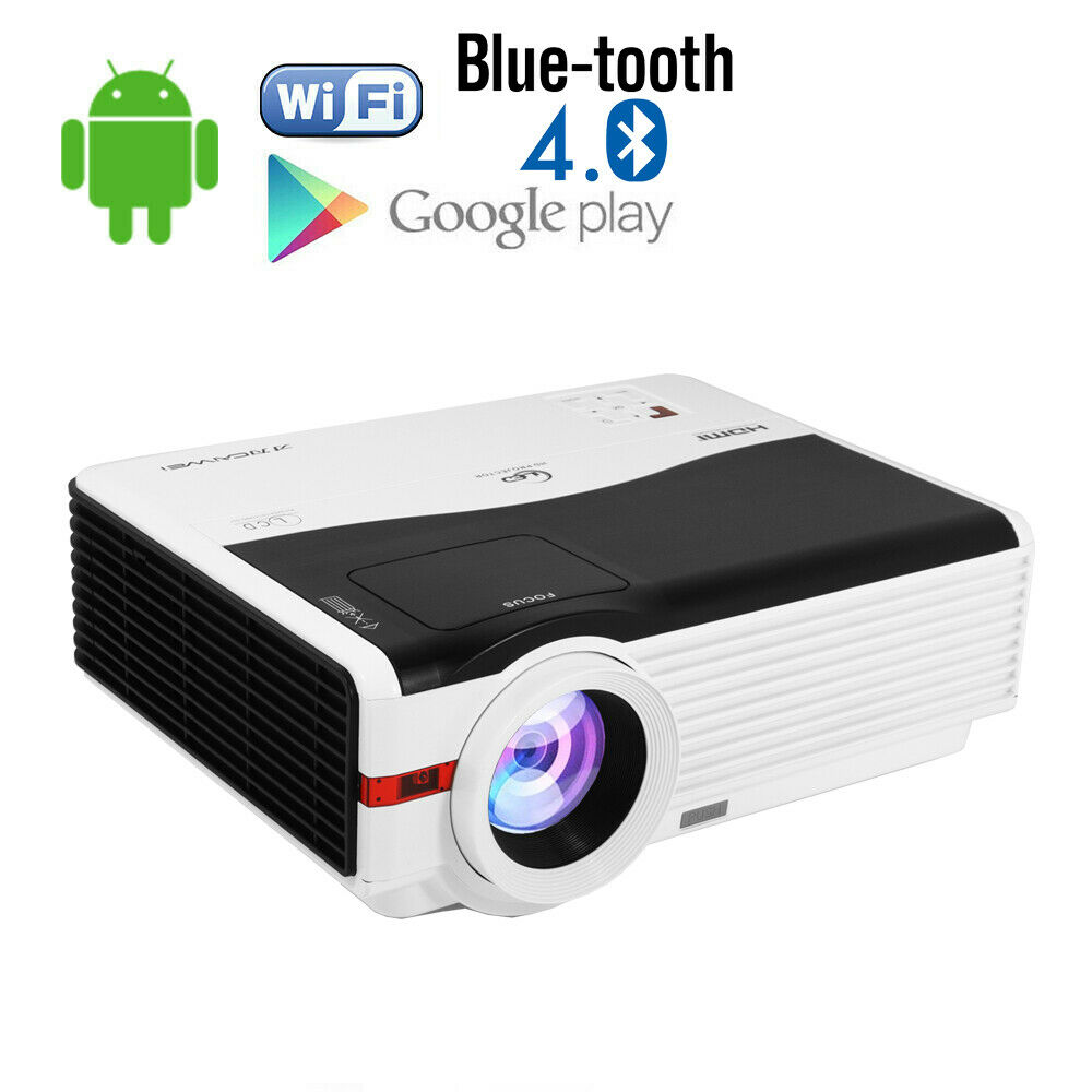 CAIWEI HD Multimedia Video Projector Home Theater 1080p USB