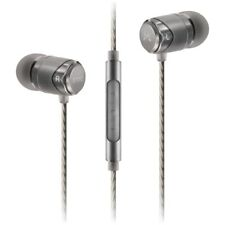 SoundMAGIC E11C Noise Isolating In-Ear Headphones with Microphone (Gunmetal)