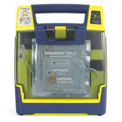 Brand New Cardiac Science Powerheart G3 Automatic Aed W Case Authentic