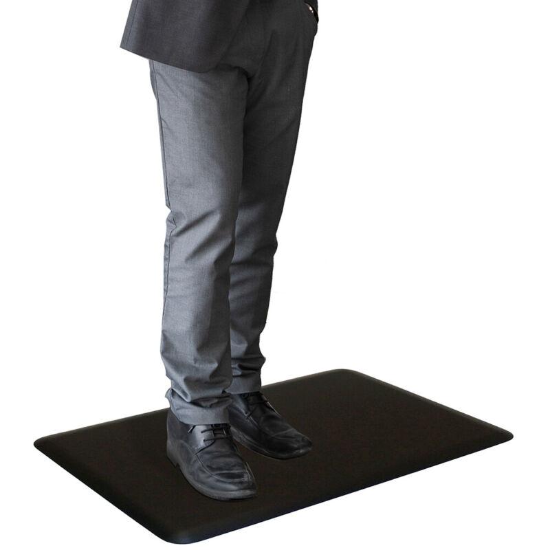 Almost Perfect Anti-Fatigue Mat, Black 3 x 2