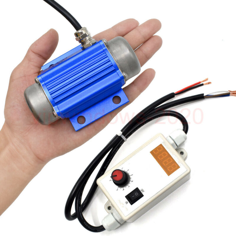 US Stock 15W Brushless Vibration Motor & Speed Controller Only for Black Friday!