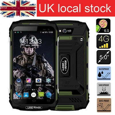"NEW Rugged Cell phone LAND ROVER X2 Smartphone Green 5"" Quad Core 4G Waterproof"