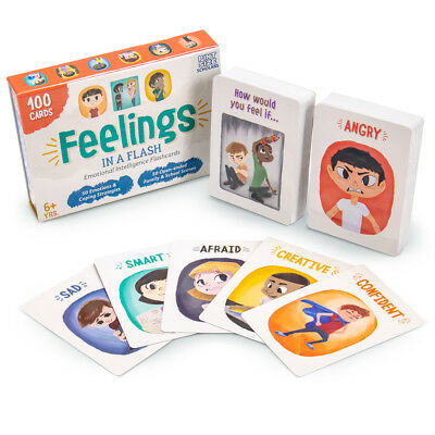Feelings in a Flash | Emotional Intelligence Flashcard Game for - Cheap Toys For Kids