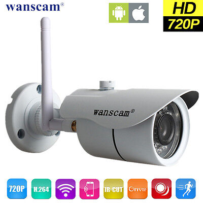 Wifi 720P HD ONVIF P2P Outdoor Wireless IR Cut Security IP Camera Night Vision for sale  Shipping to Nigeria