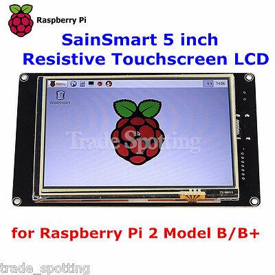 Sainsmart 5 800x480 Hdmi Touch Lcd Tft Screen Display For Raspberry Pi 2 B B