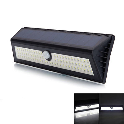 77 LED Wireless Solar Power Motion Sensor Security Light Garden Path Lamp