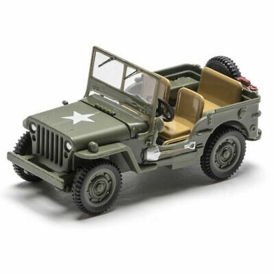 O GAUGE US ARMY MILITARY JEEP DIECAST 1:48 SCALE NEW
