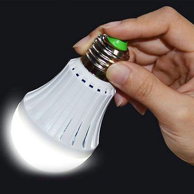 E27 Emergency Magic LED Light Bulb Rechargeable Intelligent Lamp  Light - Magic E